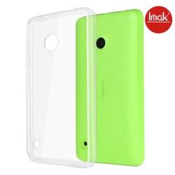 Carcasa Funda Dura Transparente Imak para Nokia Lumia 530