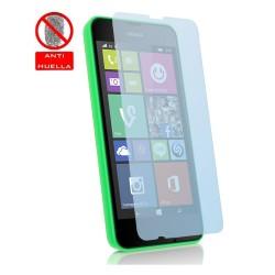 3 X Protector Pantalla Mate Antihuellas (Anti-Glare) para Nokia Lumia 530