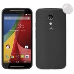 "Funda Gel Tpu Fina Ultra-Thin 0,3mm Transparente para Motorola Moto G 2 5"" (2Nd Gen)"