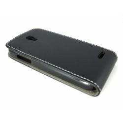 Funda Piel Premium Ultra-Slim Alcatel One Touch Pop S3 Negra