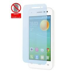 3 X Protector Pantalla Mate Antihuellas (Anti-Glare) para Alcatel One Touch Pop S3
