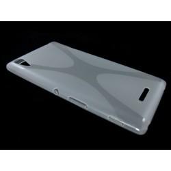 Funda Gel Tpu Sony Xperia T3  X Line Color Transparente