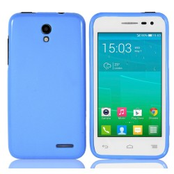 Funda Gel Tpu para Alcatel One Touch Pop S3 Color Azul
