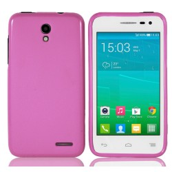 Funda Gel Tpu para Alcatel One Touch Pop S3 Color Rosa