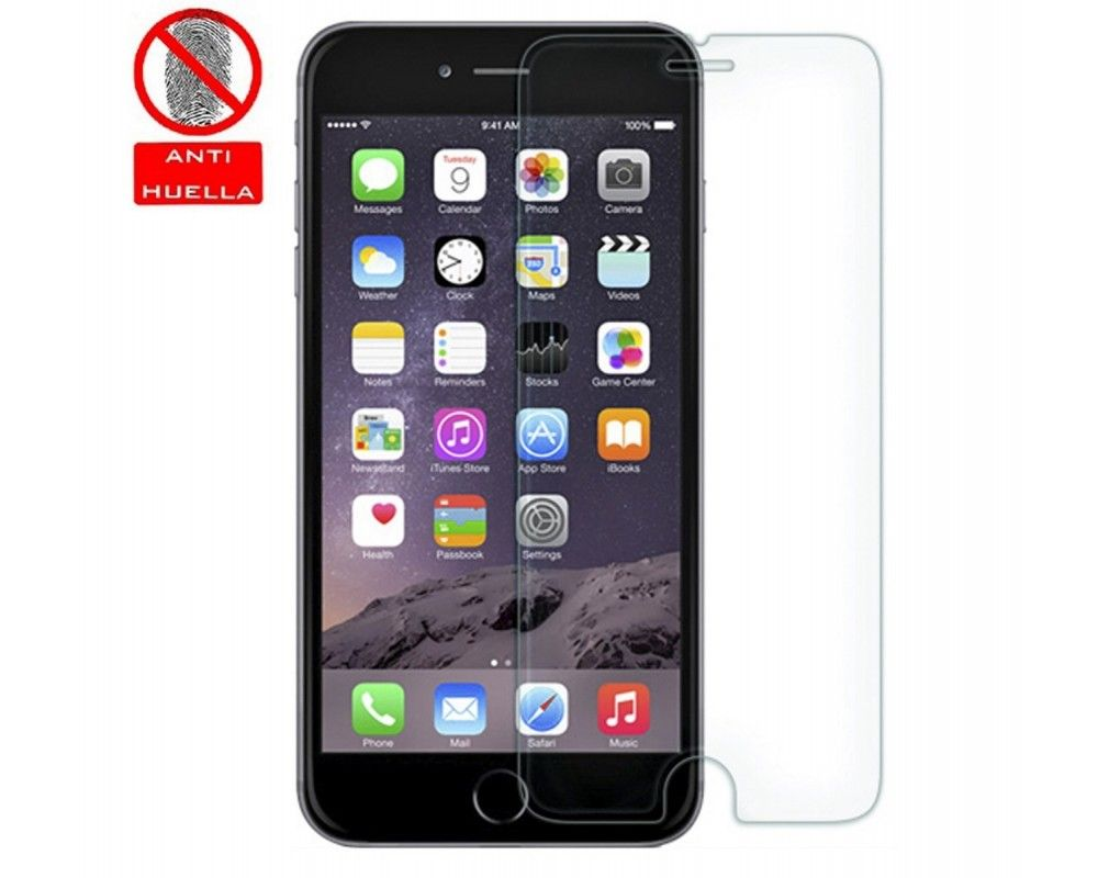 3x Protector Pantalla Ultra-Transparente para Iphone 6 Plus / 6S Plus