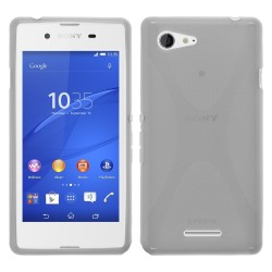 Funda Gel Tpu Sony Xperia E3 X Line Color Transparente