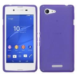Funda Gel Tpu Sony Xperia E3 X Line Color Morada