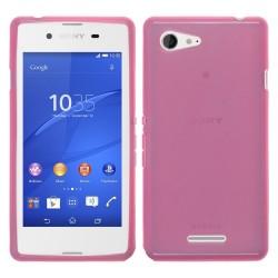 Funda Gel Tpu para Sony Xperia E3 Color Rosa