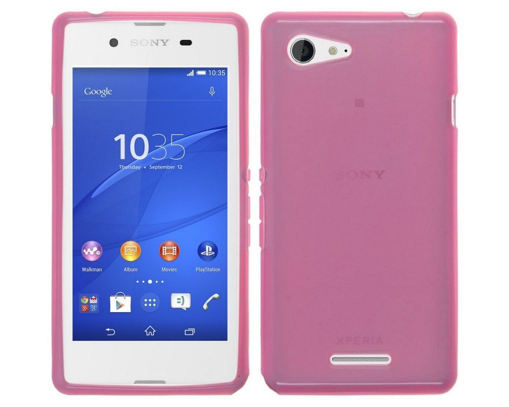 Funda Gel Tpu para Sony Xperia E3 Color Rosa