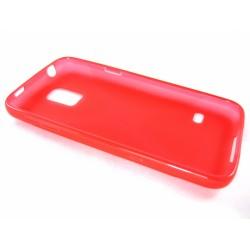 Funda Gel Tpu Samsung Galaxy S5 Mini G800F  X Line Color Roja