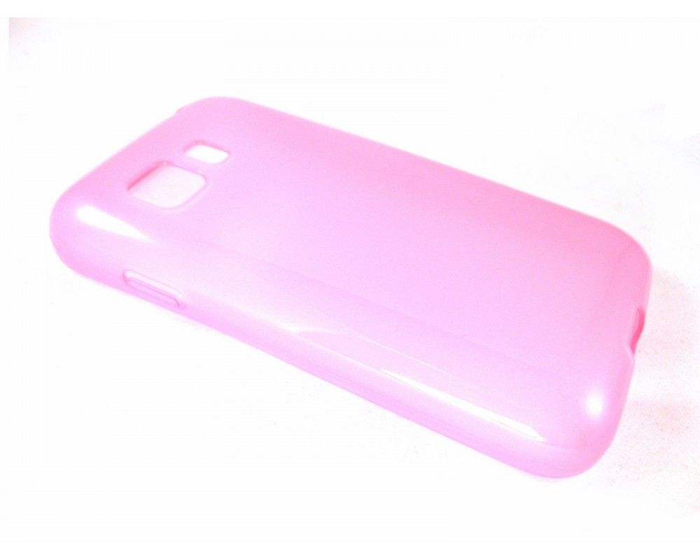 Funda Gel Tpu para Samsung Galaxy Young 2 G130H Color Rosa
