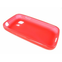 Funda Gel Tpu Samsung Galaxy Young 2 G130H X Line Color Roja