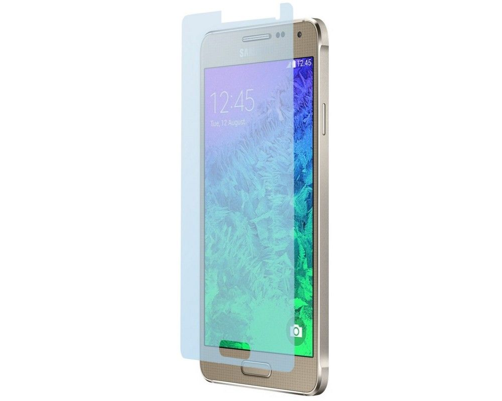 3x Protector Pantalla Ultra-Transparente para Samsung Galaxy Alpha G850F