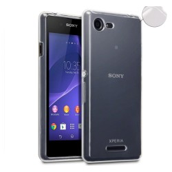 Funda Gel Tpu Fina Ultra-Thin 0,3mm Transparente para Sony Xperia E3