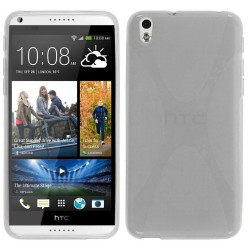 Funda Gel Tpu HTC Desire 816 X Line Color Transparente