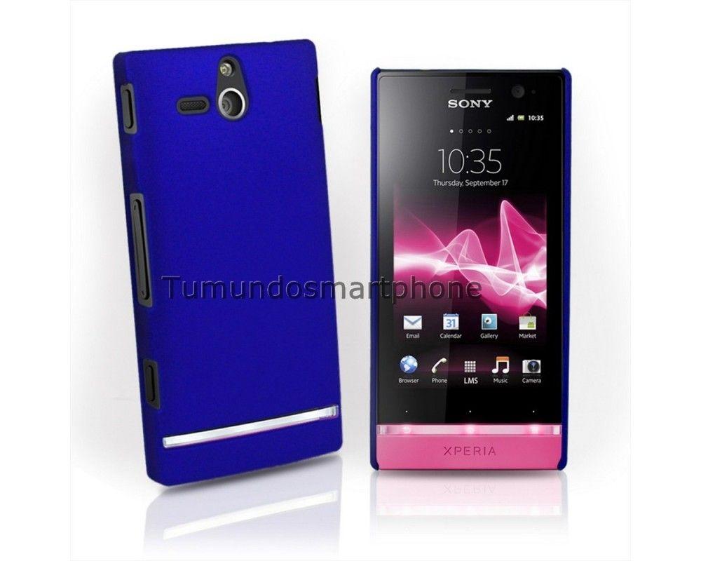 Carcasa Dura Sony Xperia U St25i Color Azul