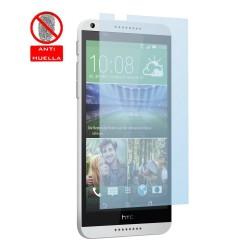 3x Protector Pantalla Mate Antihuellas (Anti-Glare) para HTC Desire 816