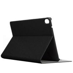 Funda Soporte Piel Negra para HTC Google Nexus 9