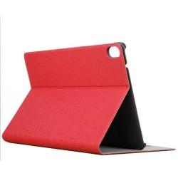 Funda Soporte Piel Roja para HTC Google Nexus 9