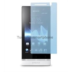3 X Protector Pantalla Anti-Glare Sony Xperia U St25i
