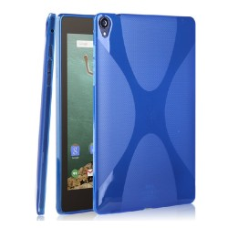 Funda Gel Tpu HTC Google Nexus 9 X Line Color Azul