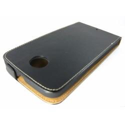 Funda Piel Premium Ultra-Slim Motorola Google Nexus 6 Negra