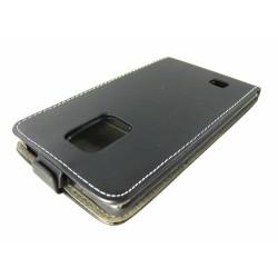 Funda Piel Premium Ultra-Slim Samsung Galaxy Note Edge N915Fy Negra