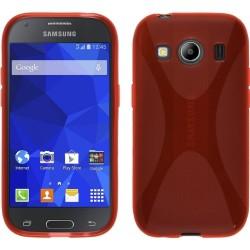 Funda Gel Tpu Samsung Galaxy Ace 4 G357Fz X Line Color Roja