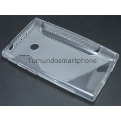 Funda Gel Tpu Lg Optimus L3 E400 S Line Color Transparente