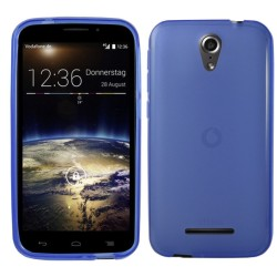 Funda Gel Tpu para Vodafone Smart 4 Power Color Azul
