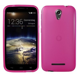 Funda Gel Tpu para Vodafone Smart 4 Power Color Rosa