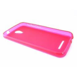 Funda Gel Tpu para Vodafone Smart 4 Power Color Rosa