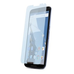 3x Protector Pantalla Ultra-Transparente para Motorola Google Nexus 6