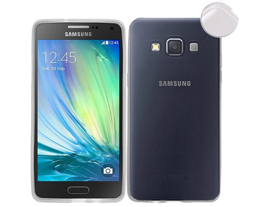 Funda Gel Tpu Fina Ultra-Thin 0,3mm Transparente para Samsung Galaxy A3 A300Fu