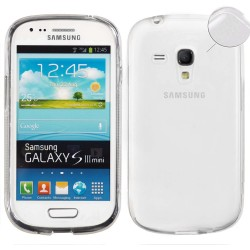 Funda Gel Tpu Fina Ultra-Thin 0,3mm Transparente para Samsung Galaxy S3 Mini I8190 / I8200