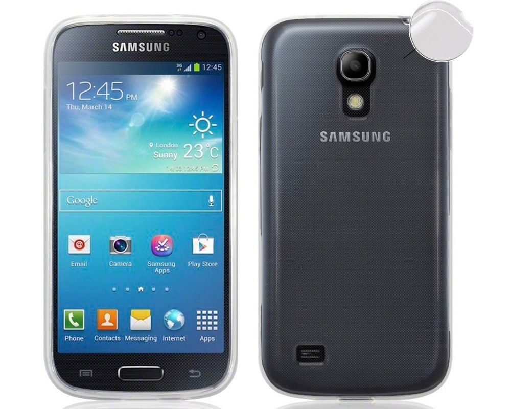 Funda Gel Tpu Fina Ultra-Thin 0,3mm Transparente para Samsung Galaxy S4 Mini I9190