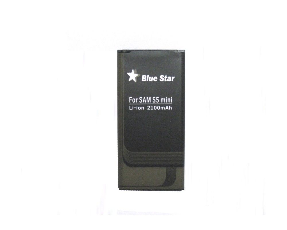Bateria Blue Star para Samsung Galaxy S5 Mini G800F 2100mAh