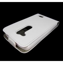 Funda Piel Premium Ultra-Slim Lg L Fino D290N Blanca