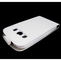 Funda Piel Premium Ultra-Slim Samsung Galaxy Ace 4 G357Fz Blanca