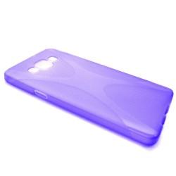 Funda Gel Tpu  Samsung Galaxy A3 A300Fu X Line Color Morada