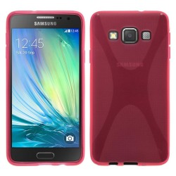 Funda Gel Tpu Samsung Galaxy A5 A500Fu X Line Color Rosa