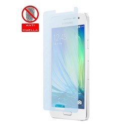 3x Protector Pantalla Mate Antihuellas (Anti-Glare) para Samsung Galaxy A5 A500Fu