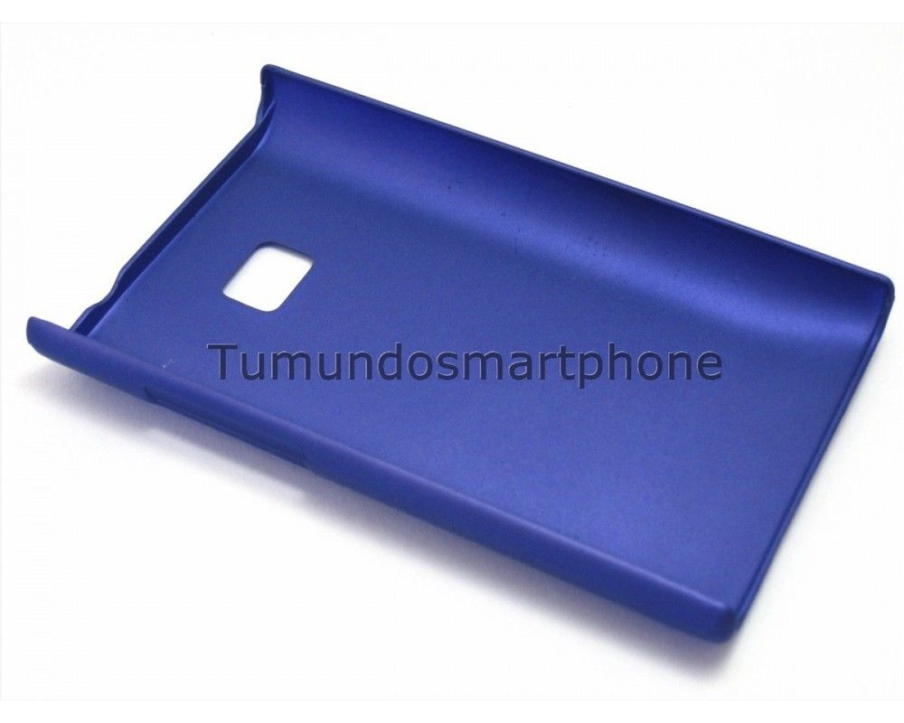 Carcasa Dura Lg Optimus L3 E400 Color Azul