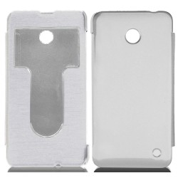 Funda Flip Cover S-View Nokia Lumia 630 / 635 Color Blanca