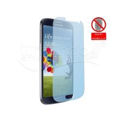 3x Protector Pantalla Mate Antihuellas (Anti-Glare) para Samsung Galaxy S4 I9500