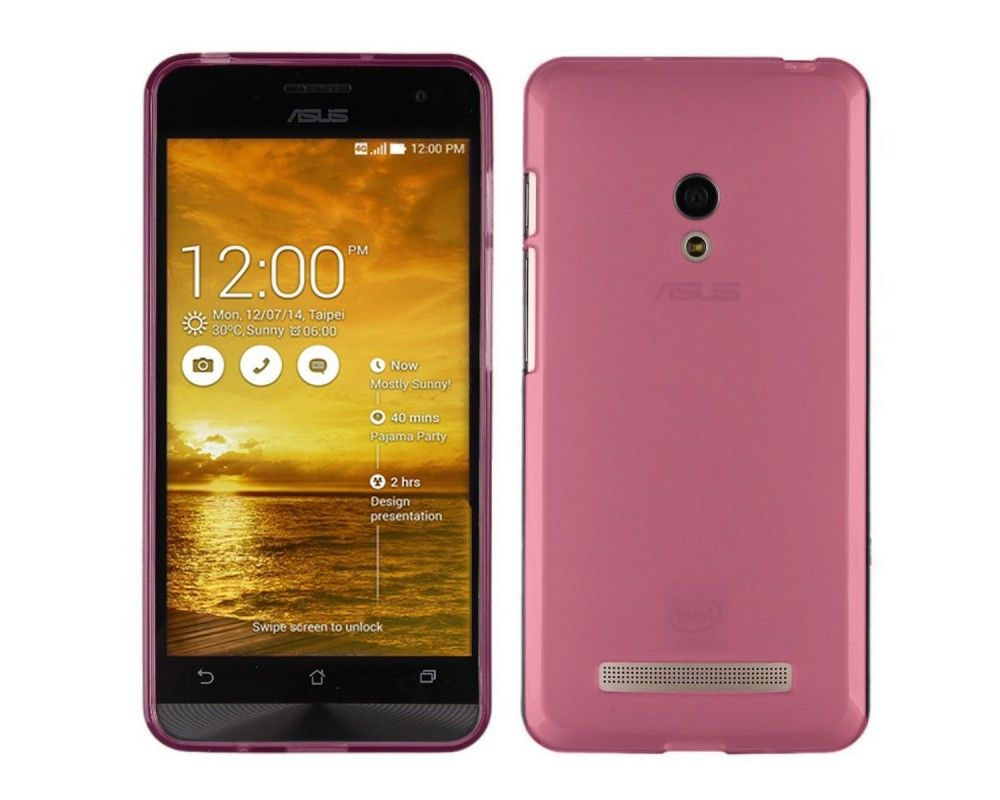 Funda Gel Tpu para Asus Zenfone 6 Color Rosa
