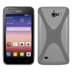 Funda Gel Tpu Huawei Ascend Y550 X Line Color Transparente