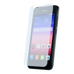 3x Protector Pantalla Ultra-Transparente para Huawei Ascend Y550