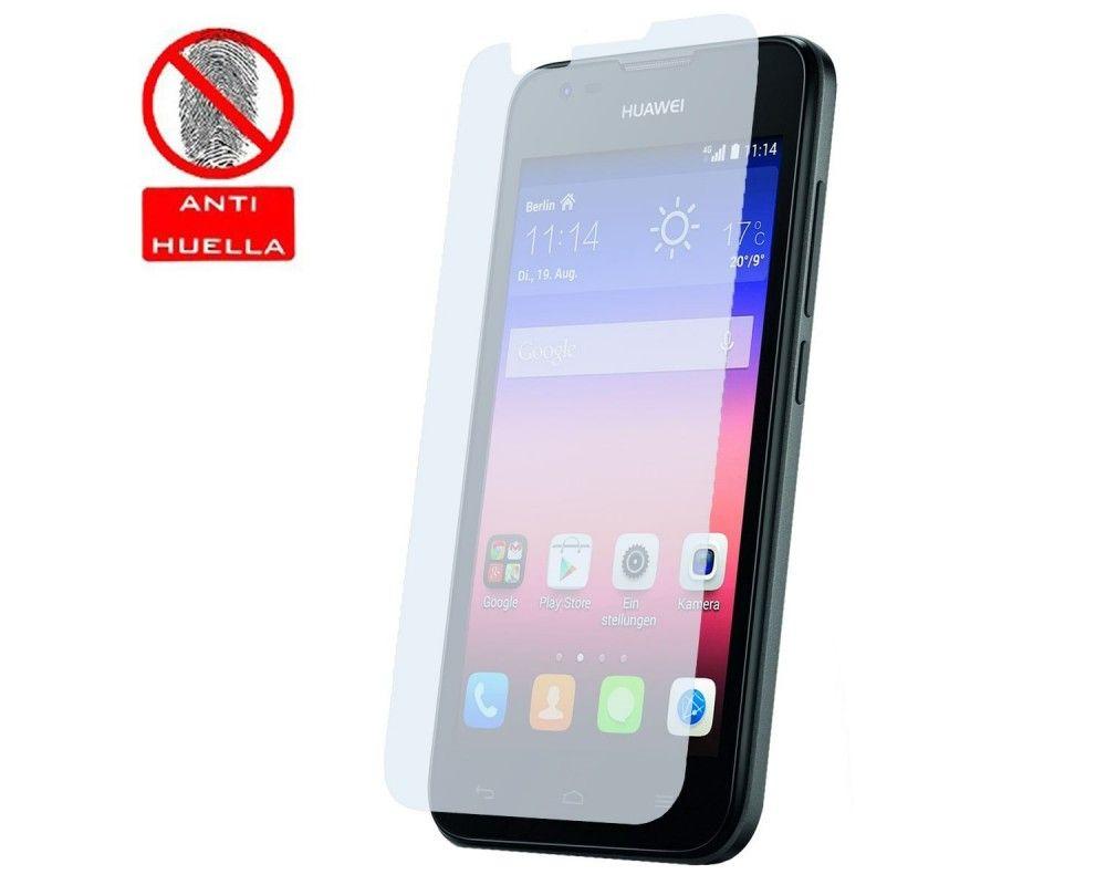 3x Protector Pantalla Mate Antihuellas (Anti-Glare) para Huawei Ascend Y550