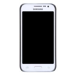 Carcasa Funda Nillkin Negra Modelo Frosted + Protector para Samsung Galaxy Core Prime G360F